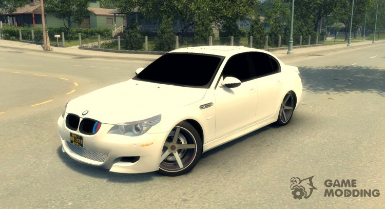 BMW M5 E60 for Mafia II