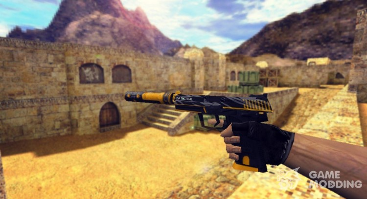 USP-s Orion Retexture for Counter Strike 1.6