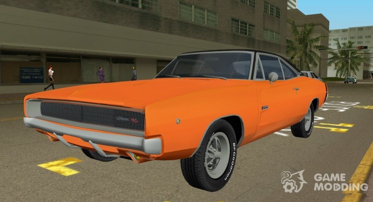 1968 Dodge Charger RT 426 for GTA Vice City