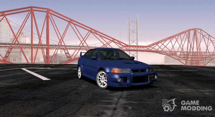 Mitsubishi Lancer Evolution VI (CP9A) 1999 for GTA San Andreas
