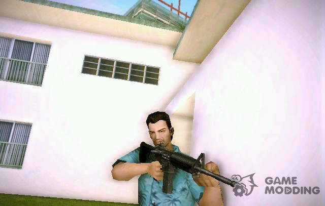 Carbine Rifle (M4A1) of GTA IV for GTA Vice City