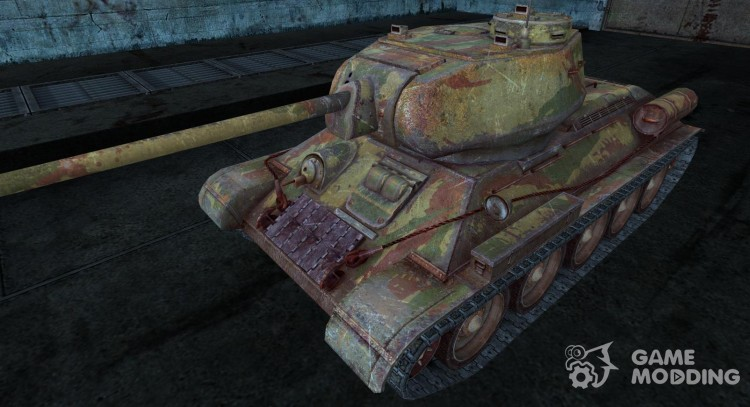 Skin for T-34-85 for World Of Tanks