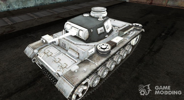 Panzer III 06 for World Of Tanks