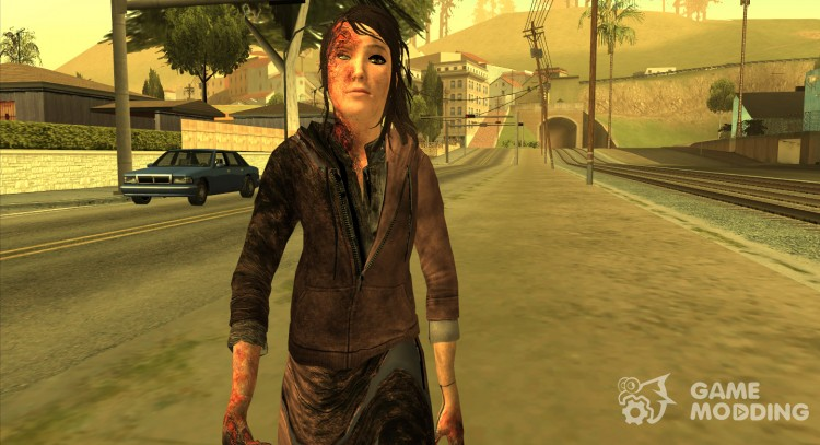 Born Child Girl for GTA San Andreas