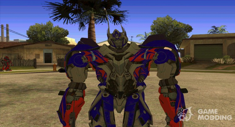 Optimus Prime Skin from Transformers for GTA San Andreas