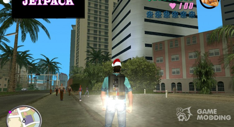 Jetpack для GTA Vice City