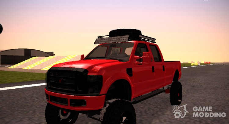 Ford F-350 Lifted 2010 Sema Show for GTA San Andreas