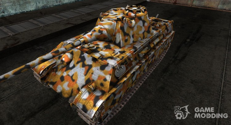 Skin for Panther II for World Of Tanks