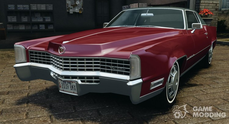 1968 Cadillac Eldorado for GTA 4