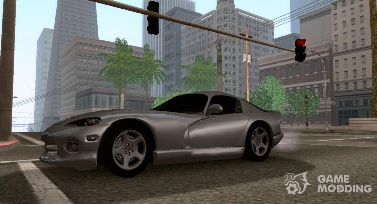 Dodge Viper GTS Tunable для GTA San Andreas