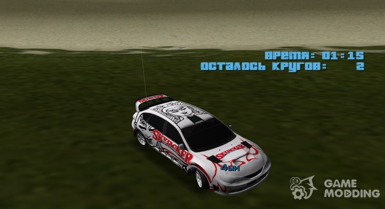 Subaru Impreza WRX STi Skyjacker из DiRT 2 для GTA Vice City