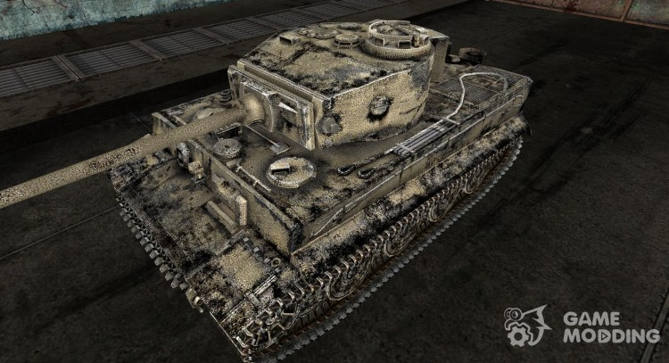 The Panzer VI Tiger vavan333 for World Of Tanks