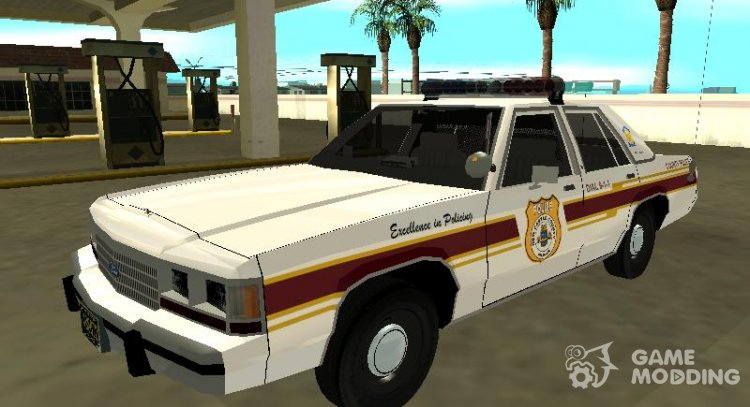 Ford LTD Crown Victoria 1991 New Castle County Police for GTA San Andreas