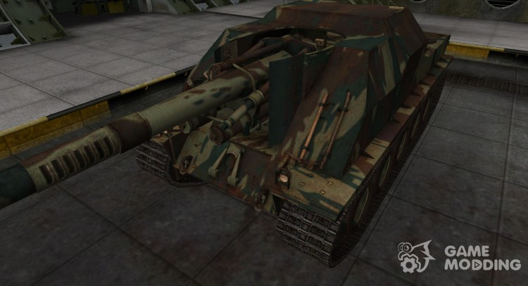 French new skin for Lorraine 155 mle. 51 for World Of Tanks
