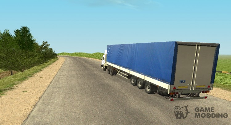 Semi trailer MAZ-9758 012 for GTA San Andreas