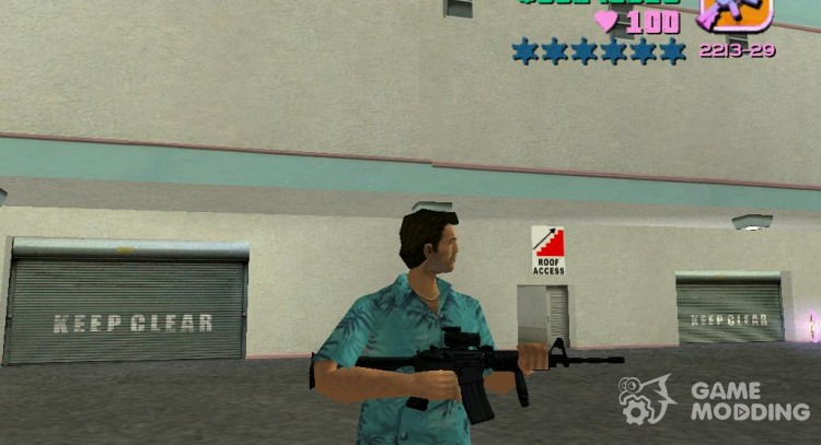 M4A1 for GTA Vice City