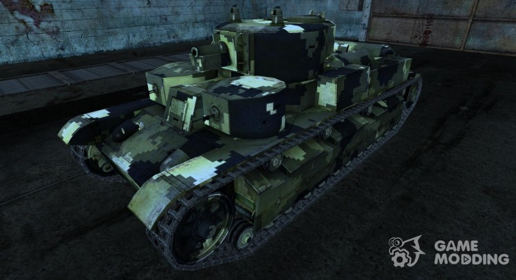 Skin for t-28 for World Of Tanks