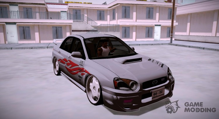 Subaru Impreza WRX STi Modification for GTA San Andreas