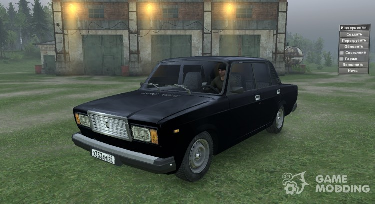 VAZ 2107 for Spintires 2014