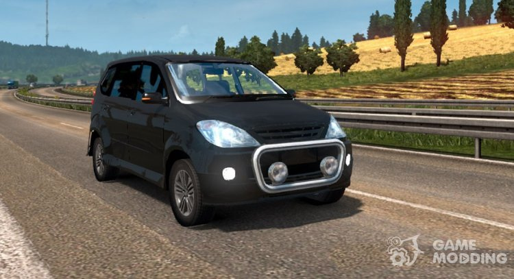 Toyota Avanza for Euro Truck Simulator 2