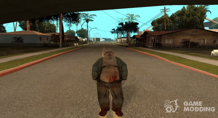 Alien thug for GTA San Andreas