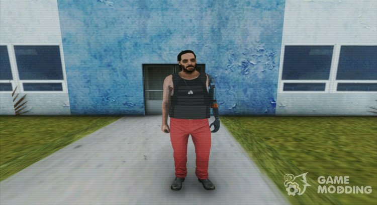 Johnny Silverhand From Cyberpunk 2077 for GTA San Andreas