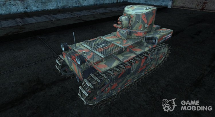 T1 Cunningham MAS629 для World Of Tanks