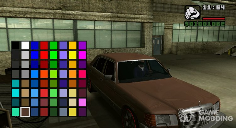 ColorMod for GTA San Andreas