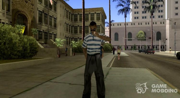 Real peds v 1 0 for GTA San Andreas