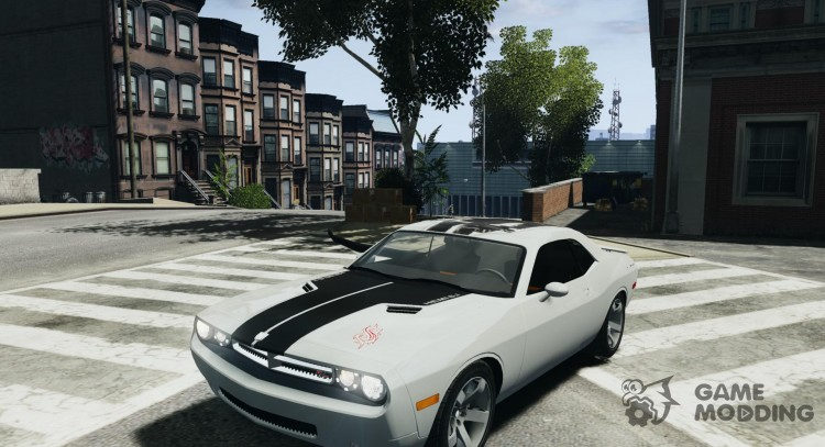 Dodge Challenger Concept Slipknot Edition for GTA 4