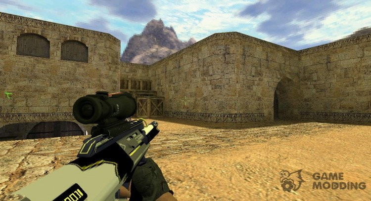AUG Twisted for Counter Strike 1.6