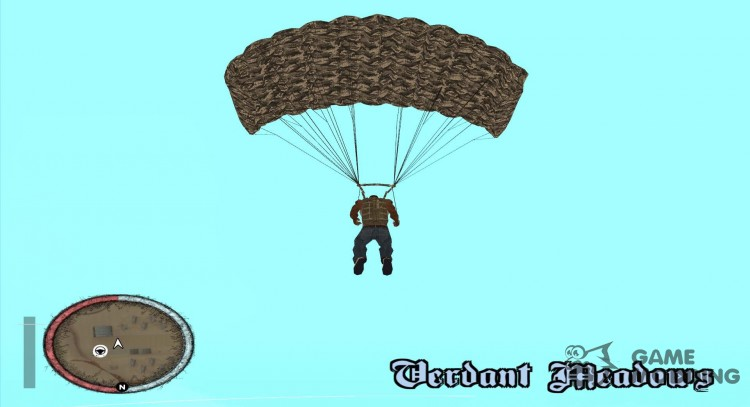 New Black Ops Parachute texture for GTA San Andreas