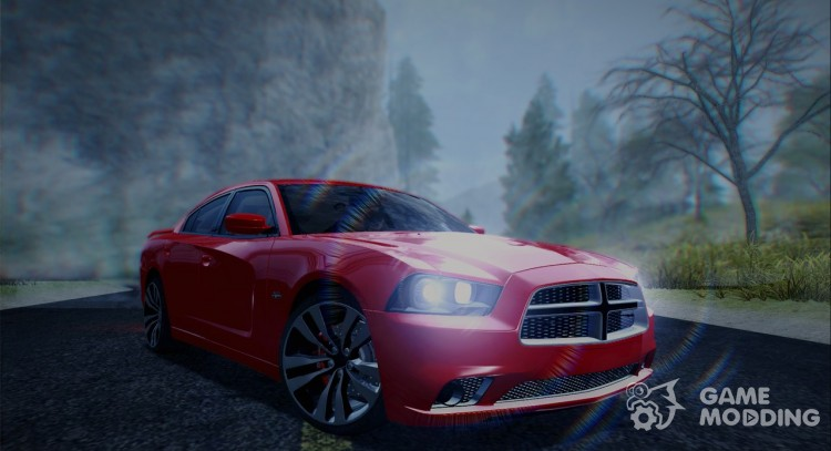 Dodge Charger SRT8 2012 Stock Version для GTA San Andreas