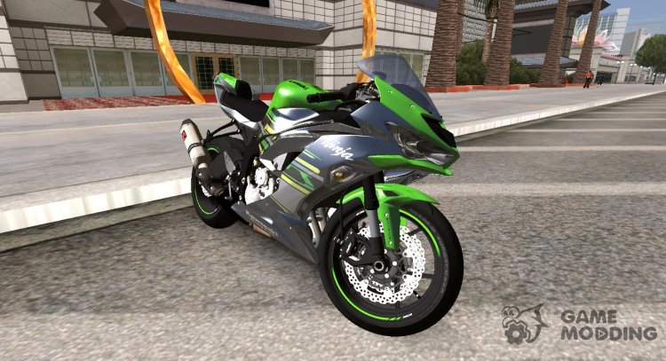2019 Kawasaki ZX-6R for GTA San Andreas