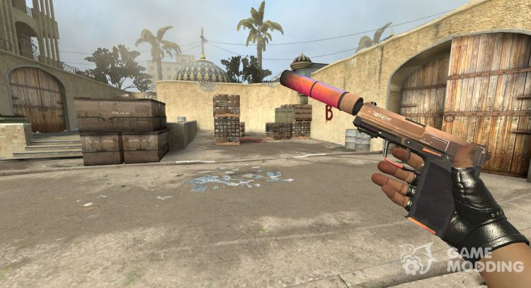USP-S Totem for Counter-Strike Source