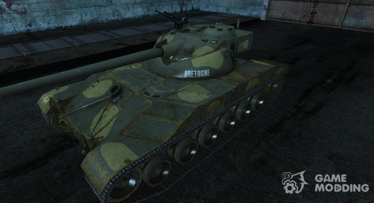 Skin for Bat Chatillon t 25 No. 2 for World Of Tanks