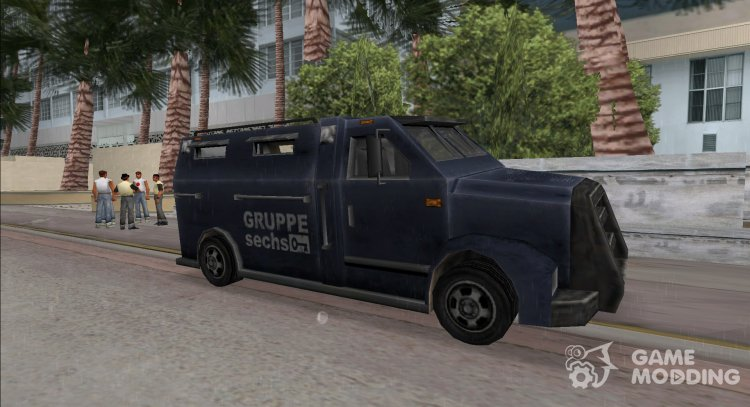 Bulletprof Securica for GTA Vice City