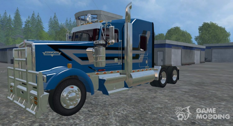 Kenworth W900L for Farming Simulator 2015