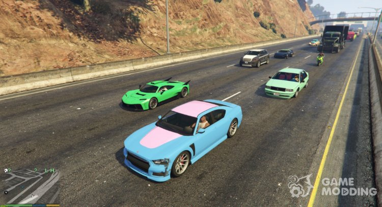 Traffic and Weapon Randomizer 0.9 for GTA 5