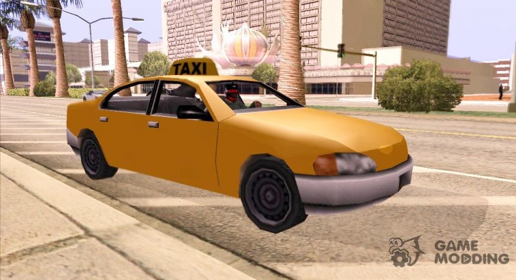 GTA 3 Taxi for GTA San Andreas