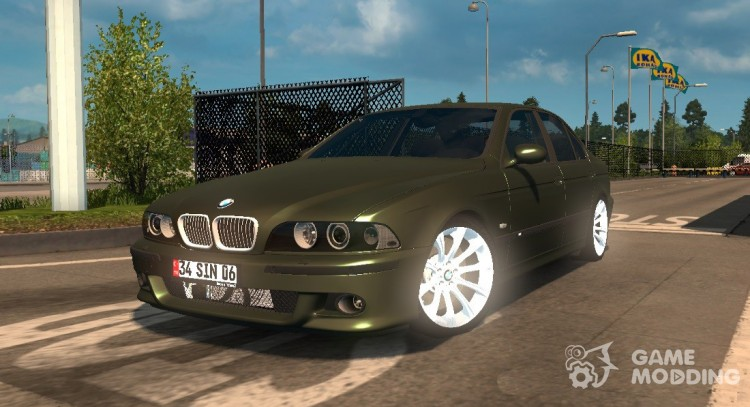 BMW 5-Series E39 for Euro Truck Simulator 2