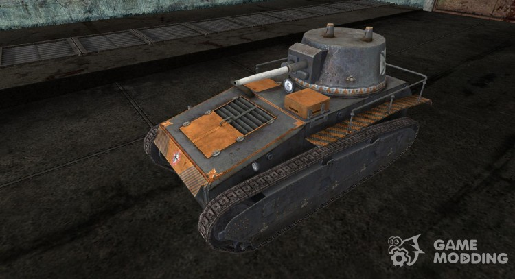 Skin for Leichtetraktor (Varhammer) for World Of Tanks