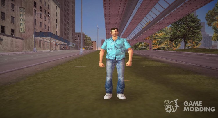 Tommy Vercetti из GTA Vice City для GTA 3