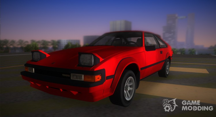 Toyota Celica Supra 1984 for GTA Vice City