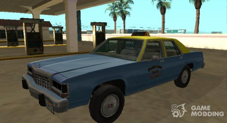 Ford LTD Crown Victoria taxi Downtown Cab Co for GTA San Andreas