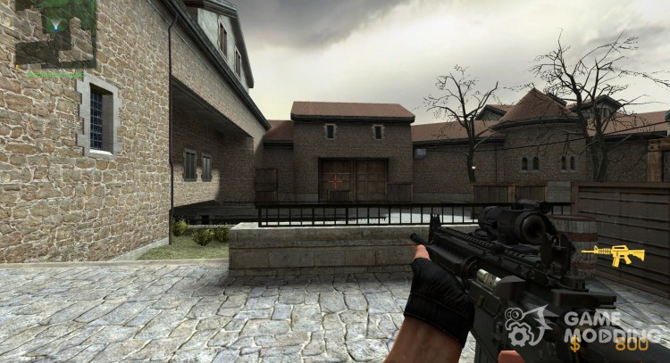 M4A1 Hack (мой первый: D) для Counter-Strike Source