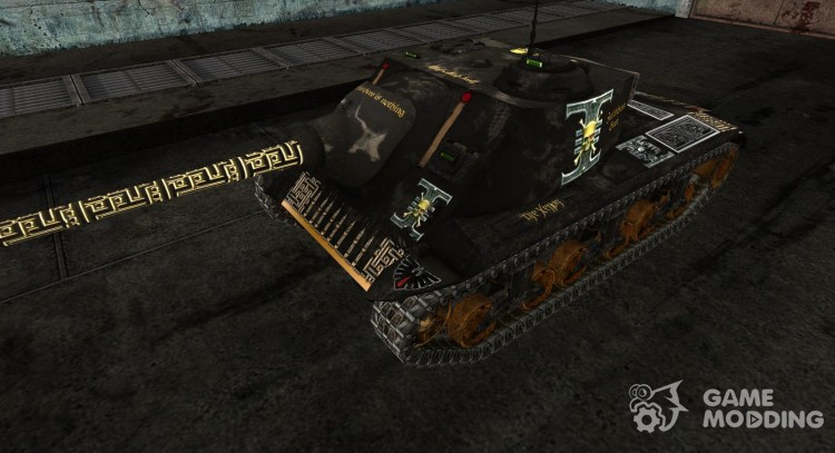 Skin for T25 AT (Varhammer) for World Of Tanks