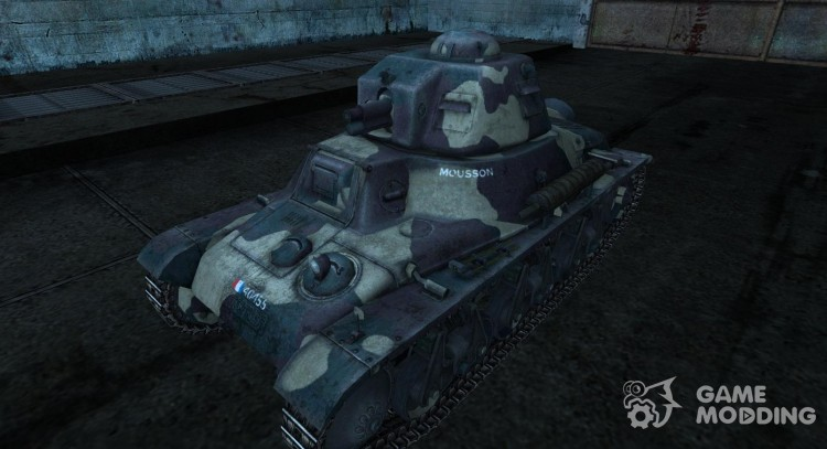Skin for Hotchkiss H35 for World Of Tanks