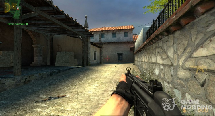 Heckler & Koch MP5A2 for Counter-Strike Source
