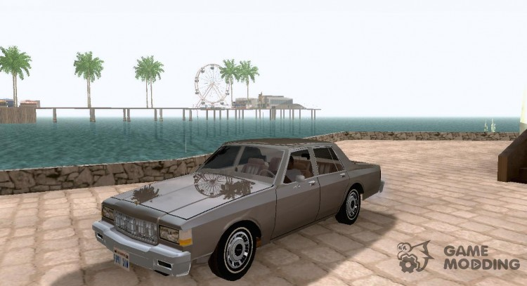 Chevrolet Caprice '86 for GTA San Andreas